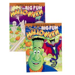 24 Units of Coloring/activity Book 2asst Halloween Styles In Pdq - Coloring & Activity Books