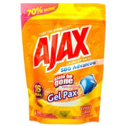 8 Units of Laundry Gel Packs 16ct Ajax Lineu And Limon Resealable Bag - Laundry  Supplies
