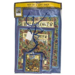 48 Units of Gift Bags S/3 Sunflower - Gift Bags Assorted