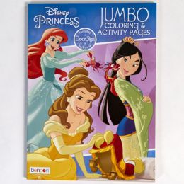 24 Units of Coloring Book Disney Princess In 24pc Display - Coloring & Activity Books