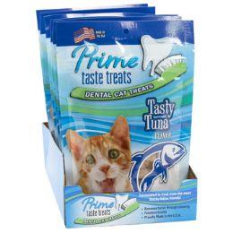 6 Units of Cat Treats Tasty Tuna Flavor 2.1 Oz Bag In Counter Display - Pet Supplies