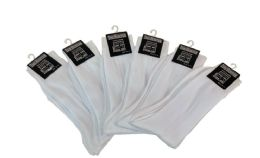 60 Units of Men's Dress Sock Size 10-13 White Color Only - Mens Dress Sock