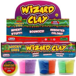 72 Units of Molding Wizard Clay - Slime & Squishees