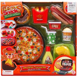 12 Units of PRETEND FOOD PLAY SET - Toy Sets