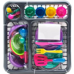 12 Units of PRETEND DISH PLAY SET - Toy Sets
