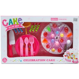 12 Units of PRETEND CAKE PLAY SET - Toy Sets