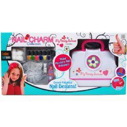 6 Units of NAIL BEAUTY SALON PLAY SET - Girls Toys