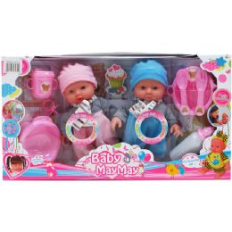 6 Units of BABY DOLL W/ SOUND & ACCSS - Dolls