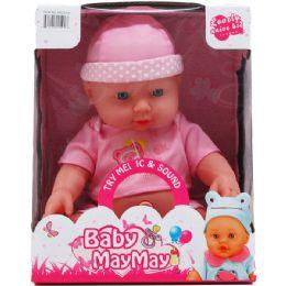 12 Units of B/O BABY DOLL W/ SOUND IN WINDOW BOX - Dolls