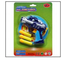 "72 Units of 4.75"" SOFT FOAM DART BLASTER - Toy Sets"