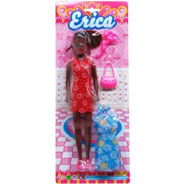 """36 Units of 11"""" ERICA DOLL W/ ACCSS - Dolls"""