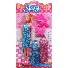 36 Units of STACY DOLL W/ ACCSS - Dolls