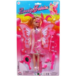 36 Units of FAIRY DOLL W/ ACCSS - Dolls