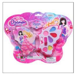 48 Units of BUTTERFLY SHAPE MAKE UP BEAUTY SET - Girls Toys