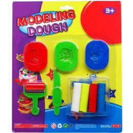 36 Units of DOUGH PLAY SET - Clay & Play Dough