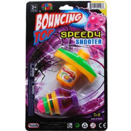 72 Units of Bouncing Top With Light - Light Up Toys