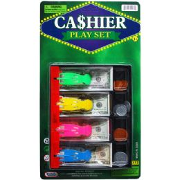 48 Units of PLAYING MONEY CASH DRAWER W/ COINS - Educational Toys