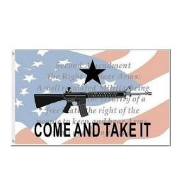 36 Units of COME AND TAKE IT Flag American Flag Gun 2nd Amendment - Signs & Flags