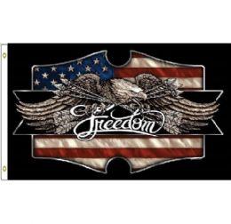 24 Units of Freedom Eagle Flag - Flag