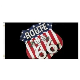 24 Units of Route 66 Flag - Signs & Flags