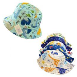 24 Units of Bucket Hat Boys Assorted Prints - Bucket Hats
