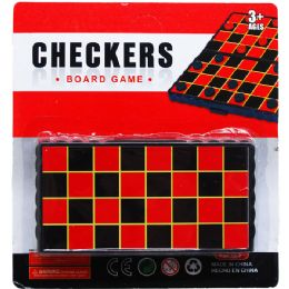 96 Units of CHECKERS BOARD - Dominoes & Chess