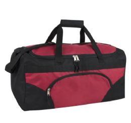 24 Units of 22 Inch Duffel Bag-RED - Duffel Bags