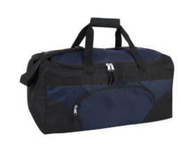 24 Units of 22 Inch Duffel Bag-NAVY - Duffel Bags