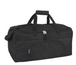 24 Units of 22 Inch Duffel Bag-BLACK - Duffel Bags