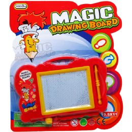 72 Units of Magic Drawing Board In Blistered Card - Novelty Toys