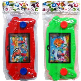 72 Units of Ring Toss Water Game In Pegable Bag - Summer Toys