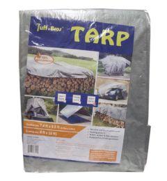 10 Units of SILVER HEAVY DUTY PE TARP 8X10 - Tarps