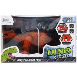 "12 Units of 10"" B/O DINO STEGOSAURUS IN WINDOW BOX - Educational Toys"