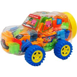 12 Units of 50PC ASSRT COLORED BLOCKS - Toy Sets
