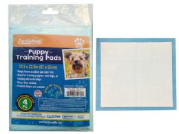 72 Units of 4PC Puppy Training Pads - Pet Grooming Supplies