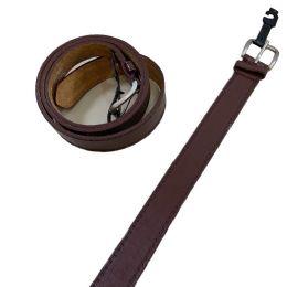 36 Units of Belt Wide Brown XLarge Only - Mens Belts