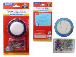 144 Units of Sewing Pins Set - Sewing Supplies
