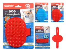 96 Units of Dog Grooming Brush - Pet Collars and Leashes