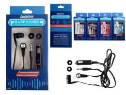 144 Units of Earphones With Microphone - Cell Phone Accessories
