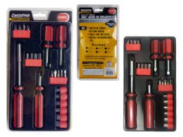 24 Units of Screwdriver And Ratchet Set - Screwdrivers and Sets