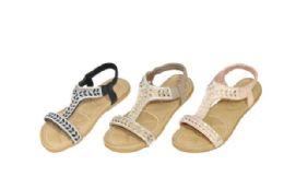 36 Units of Women's Studded Sandals - Women's Sandals