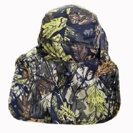 24 Units of Fishing Sun Hat With Neck Cover - Sun Hats