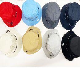 36 Units of Assorted Color Bucket Hats - Bucket Hats