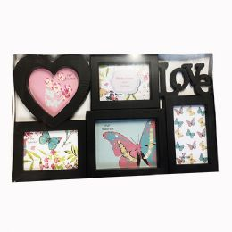 12 Units of Photo Frame Love Black And White - Picture Frames