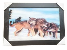 12 Units of Snow Wolves Canvas Picture Wall Art - Wall Decor