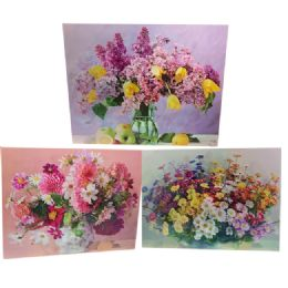 48 Units of Flowers Canvas Picture - Wall Decor
