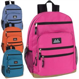 """24 Units of 18 Inch Backpack with Laptop Section- Girls - Backpacks 17"""""""