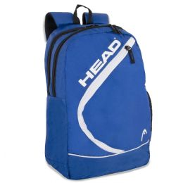 """24 Units of 18"""" Backpack With Laptop Section- Blue - Backpacks 18"""" or Larger"""