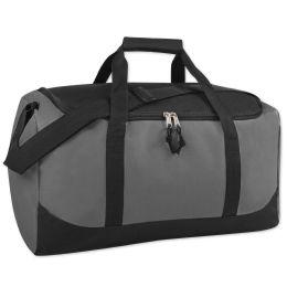 24 Units of 20 Inch Duffel Bag GRAY - Duffel Bags
