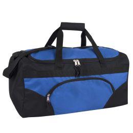 24 Units of 22 Inch Duffel Bag-BLUE - Duffel Bags